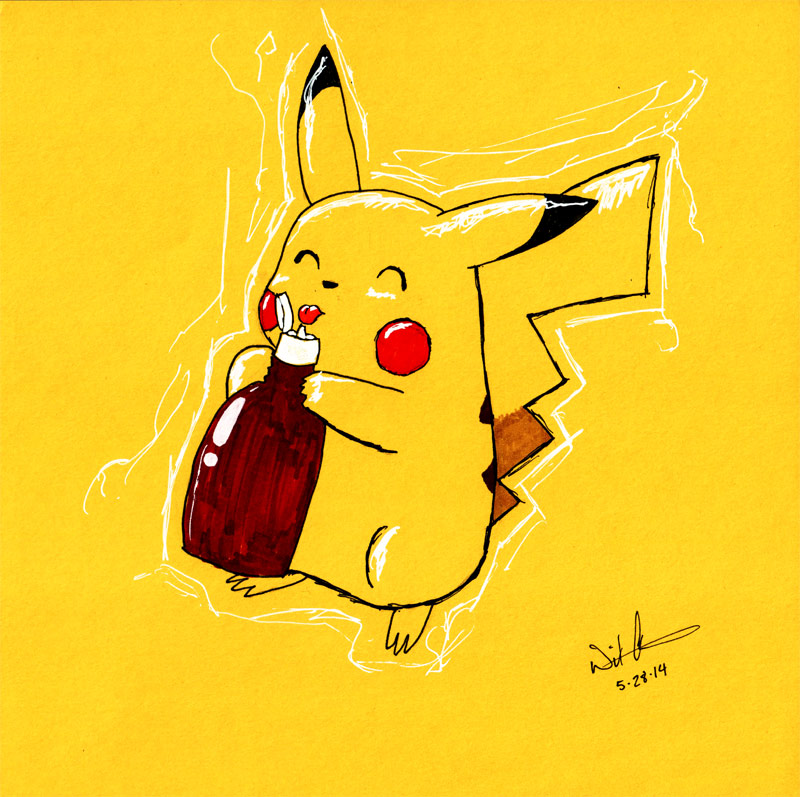 Pikachu and the Ketchup